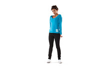 Mons Royale Women Scoop Long Sleeve teal